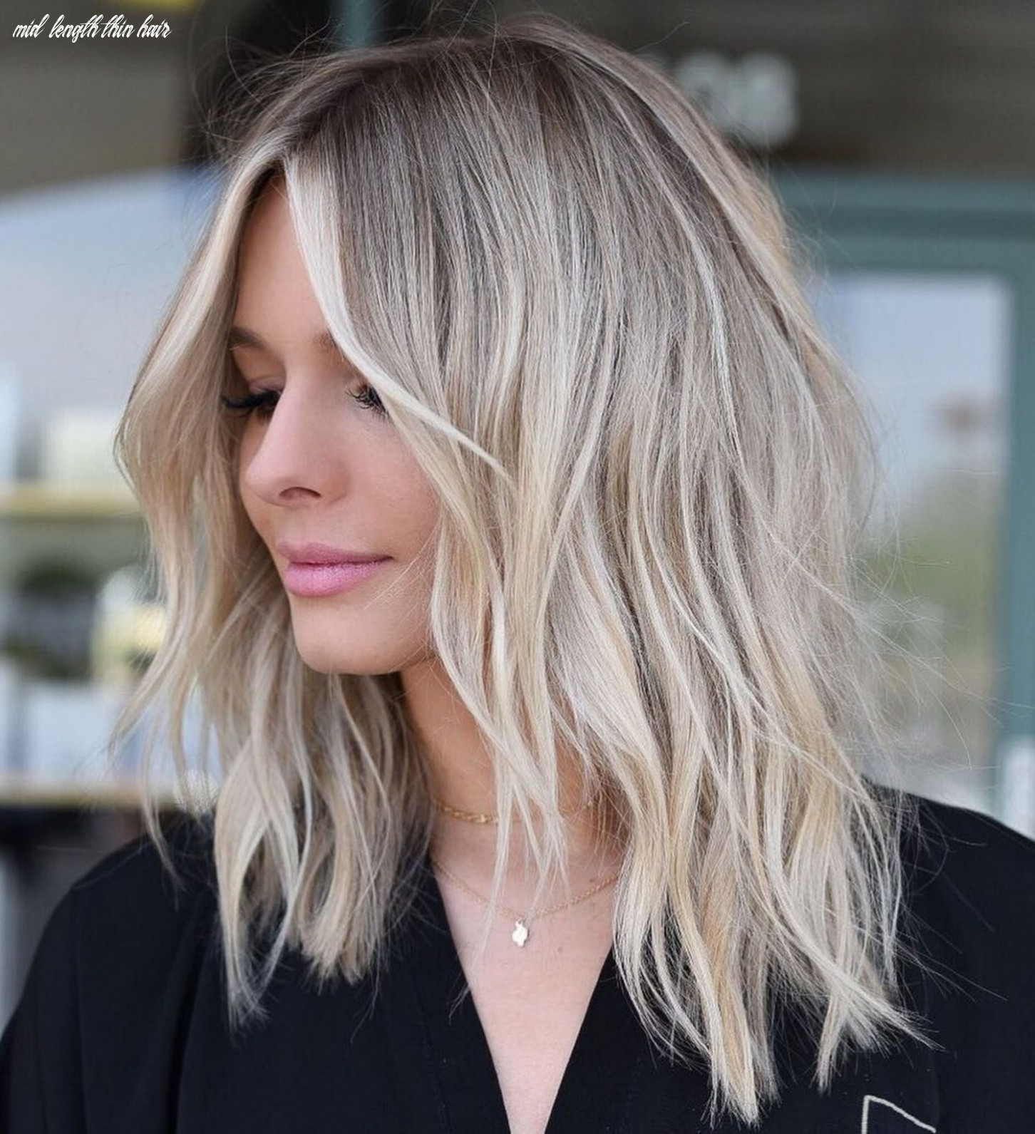 Pin on hair alicious mid length thin hair
