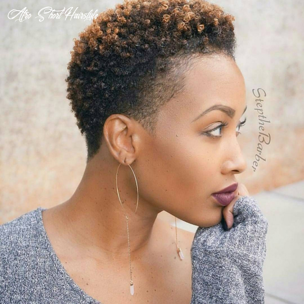 Pin on hair & beauty afro short hairstyle