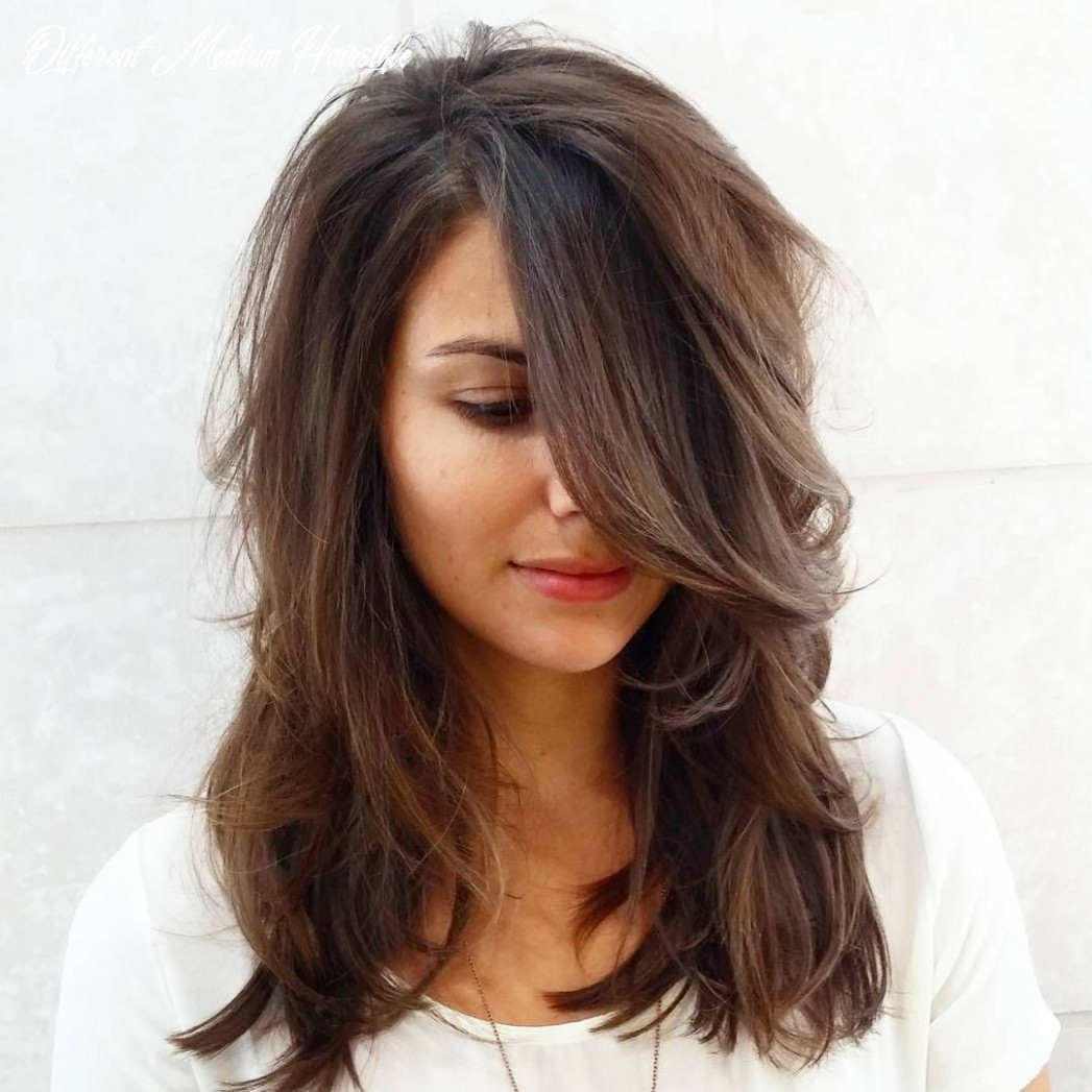 Pin on hair & beauty different medium hairstyle