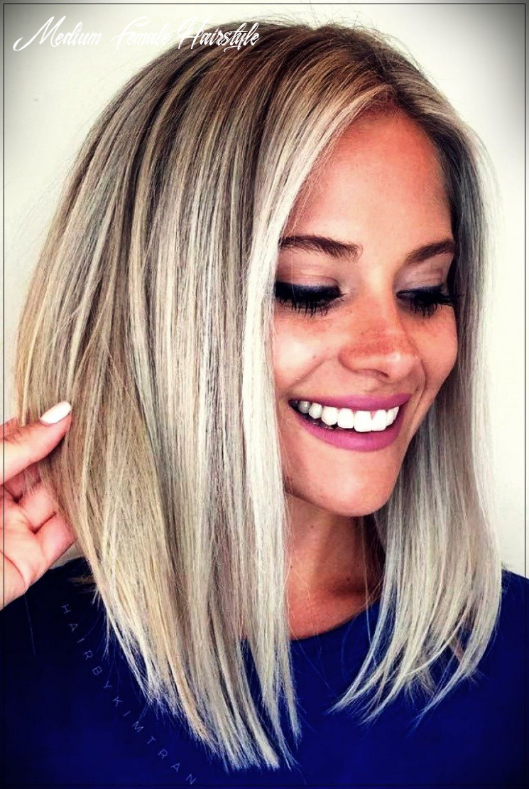 Pin on hair & beauty medium female hairstyle