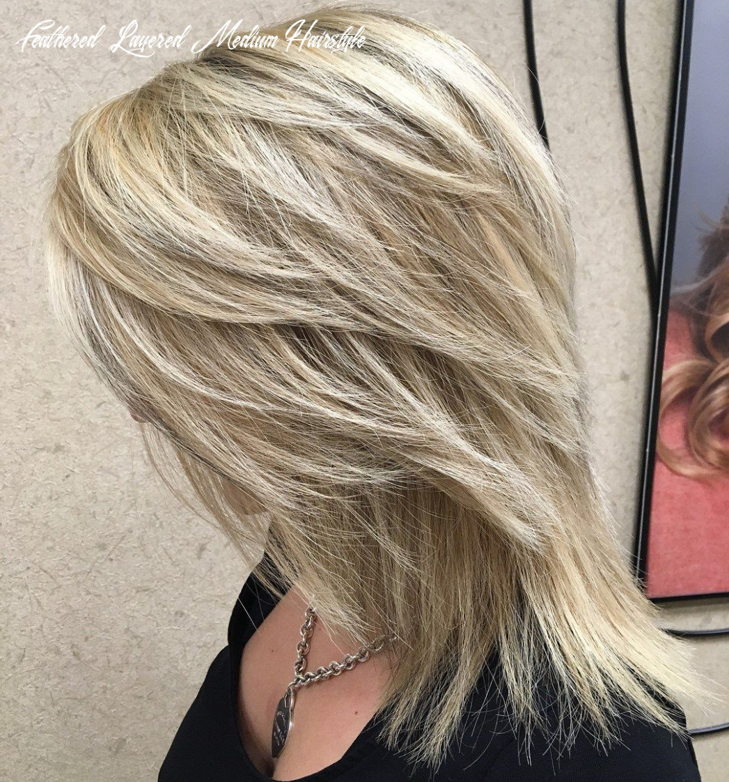 Pin on hair & hands & nails & other things feathered layered medium hairstyle