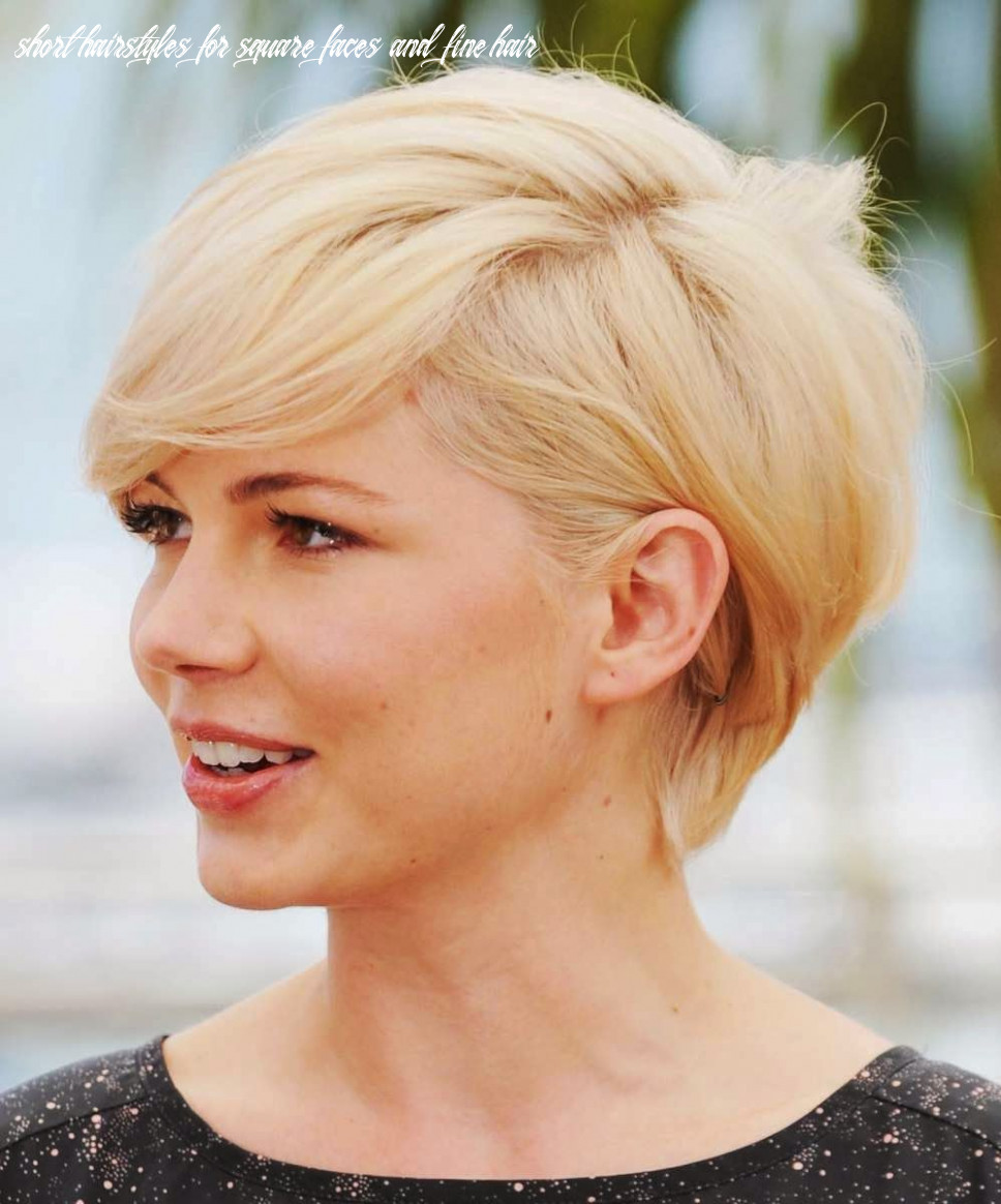 Pin on hair & makeup short hairstyles for square faces and fine hair