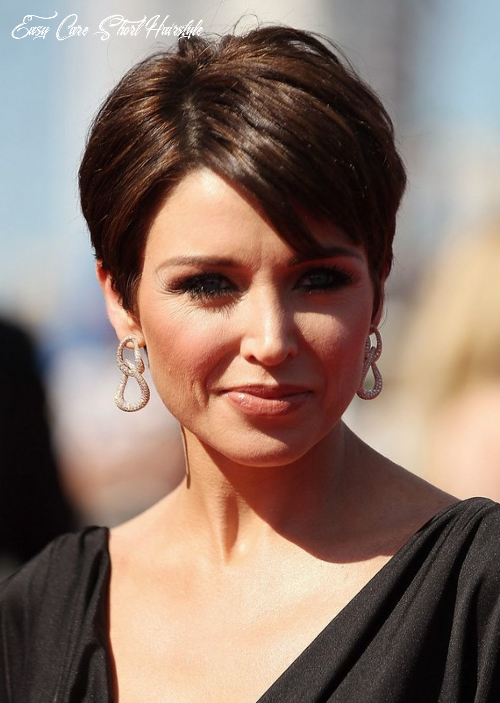 Pin on hair and beauty easy care short hairstyle