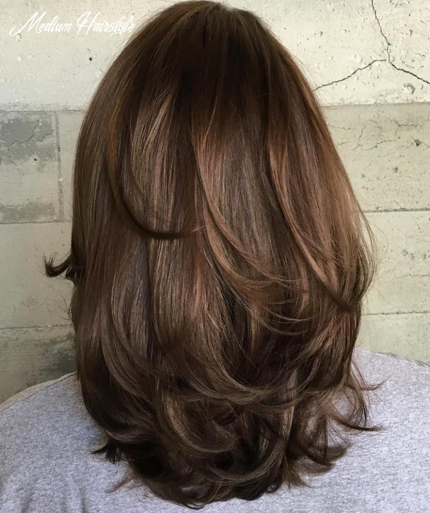 Pin on hair and beauty medium hairstyle
