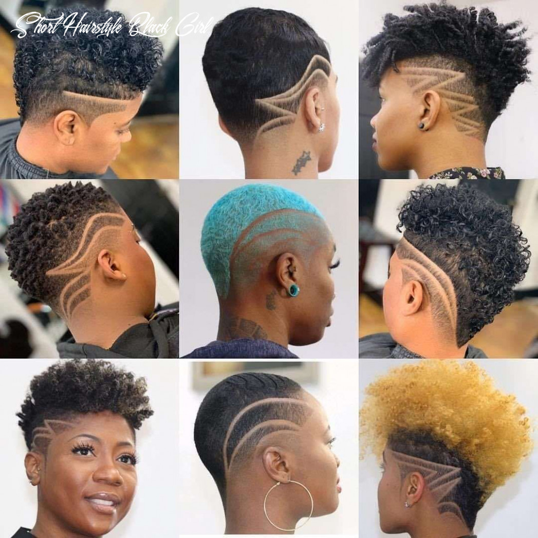 Pin on hair and beauty short hairstyle black girl