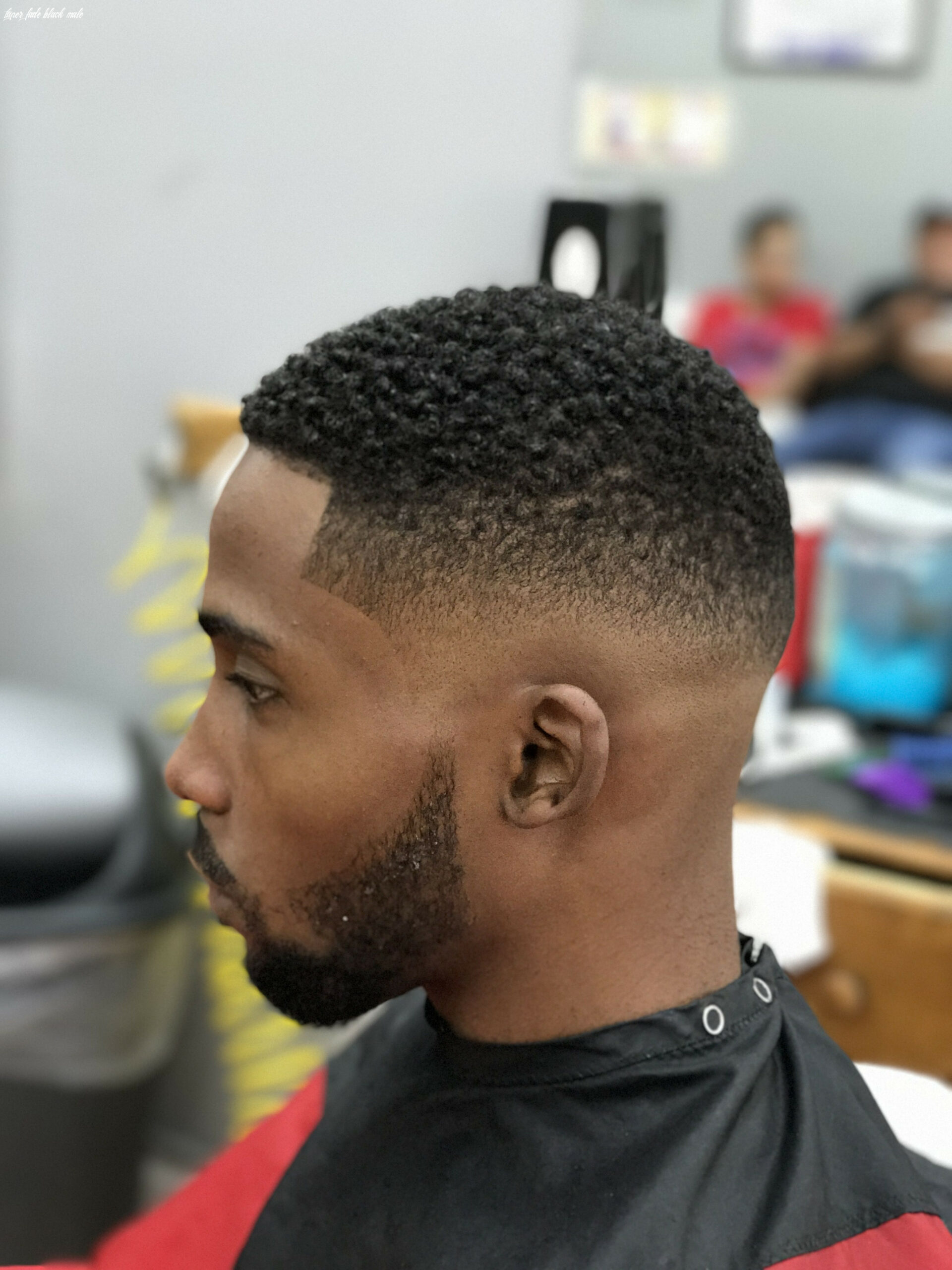 Pin on hair and beauty taper fade black male