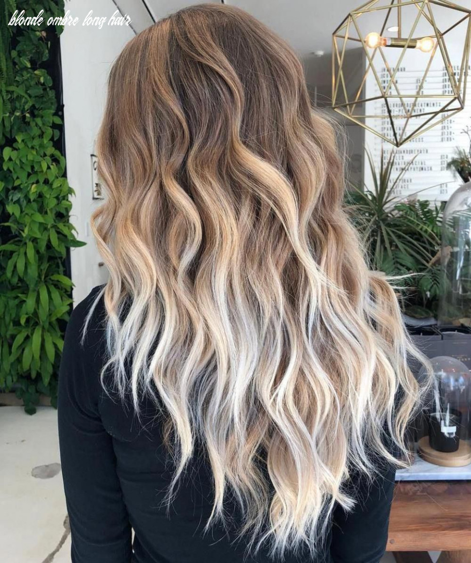Pin on hair blonde ombre long hair