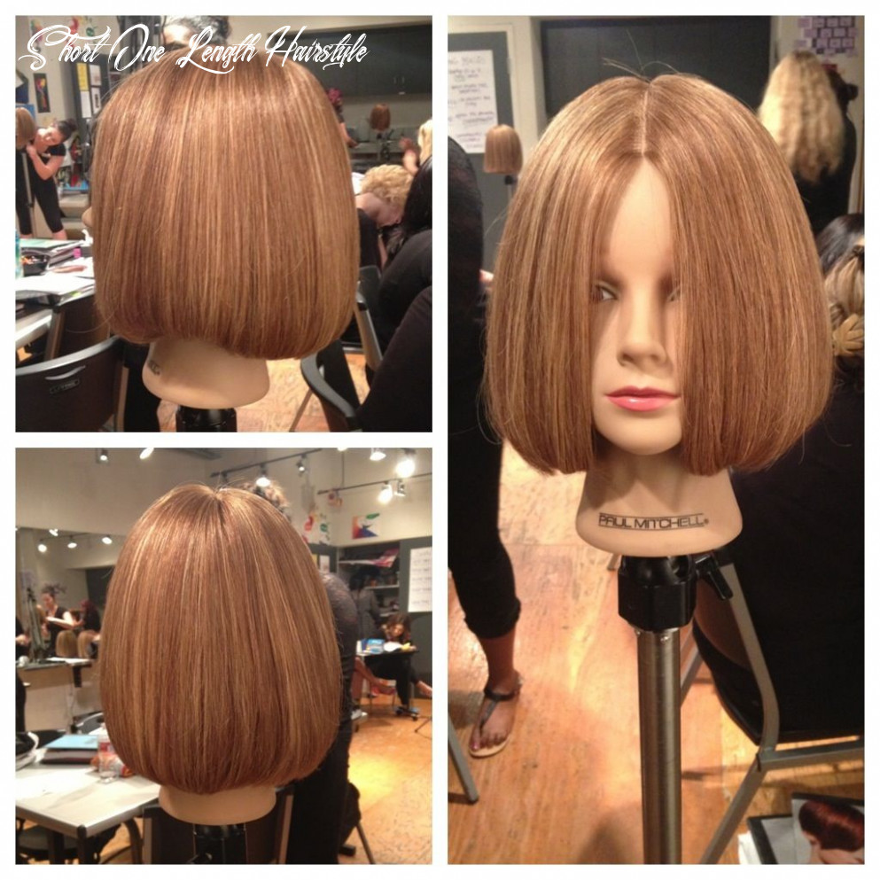 Pin on hair by mary :) short one length hairstyle