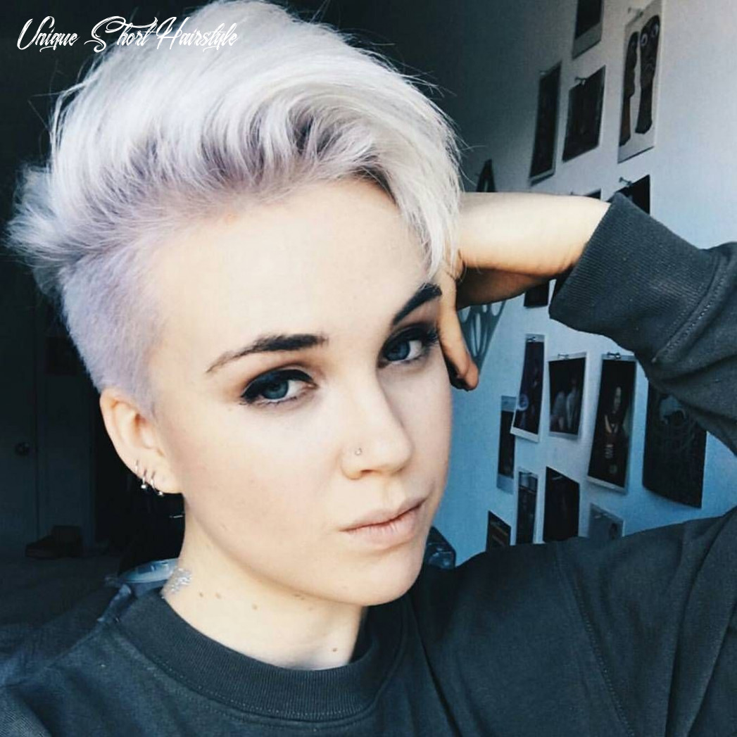 Pin on hair colors, cuts, & styles unique short hairstyle