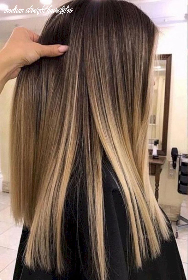 Pin on hair colors medium straight hairstyles