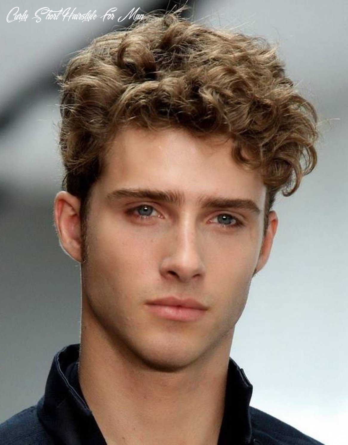 Pin on hair curly short hairstyle for man