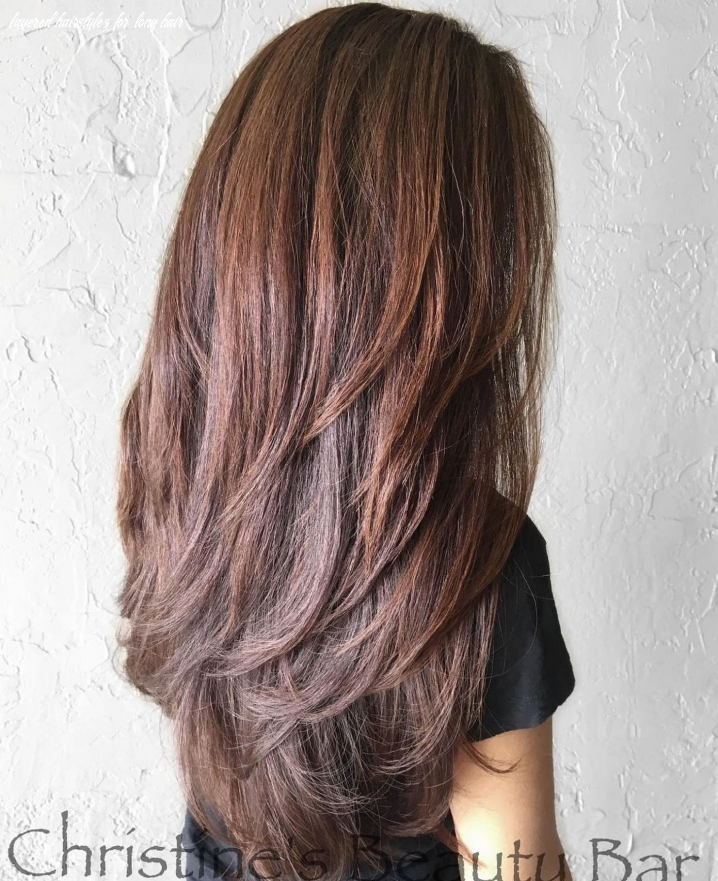Pin on hair cut/color layered hairstyles for long hair