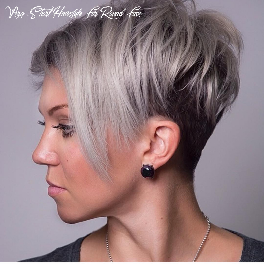 Pin on hair cut p very short hairstyle for round face
