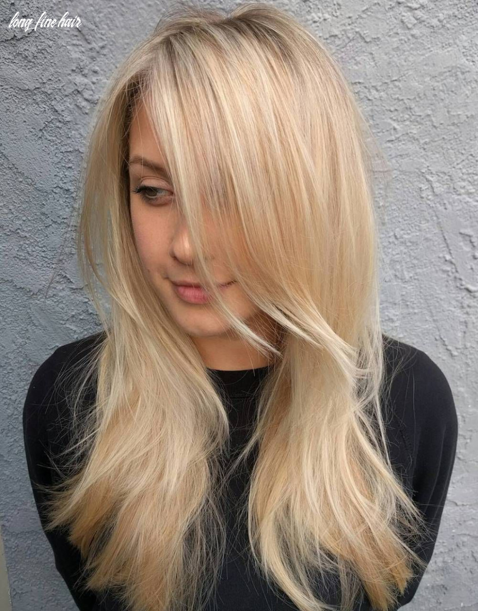 Pin on hair cuts for thin hair styles and color long fine hair