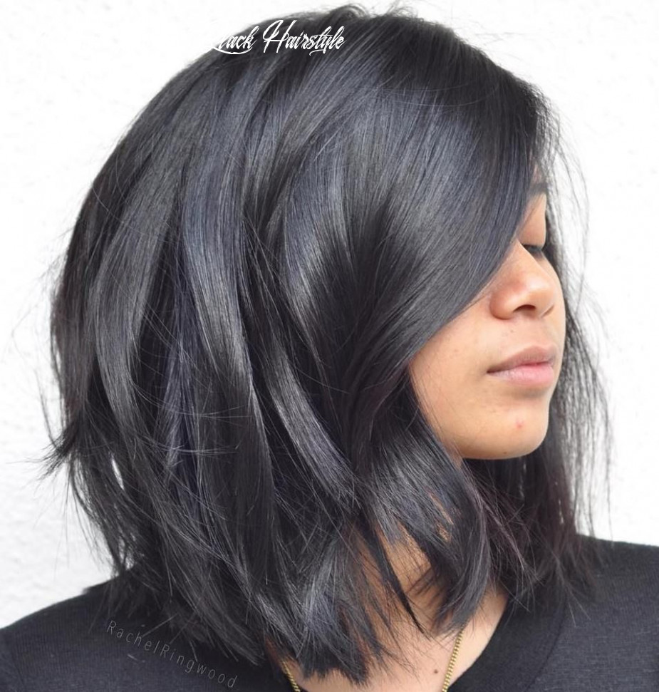 Pin on hair cuts medium layered black hairstyle