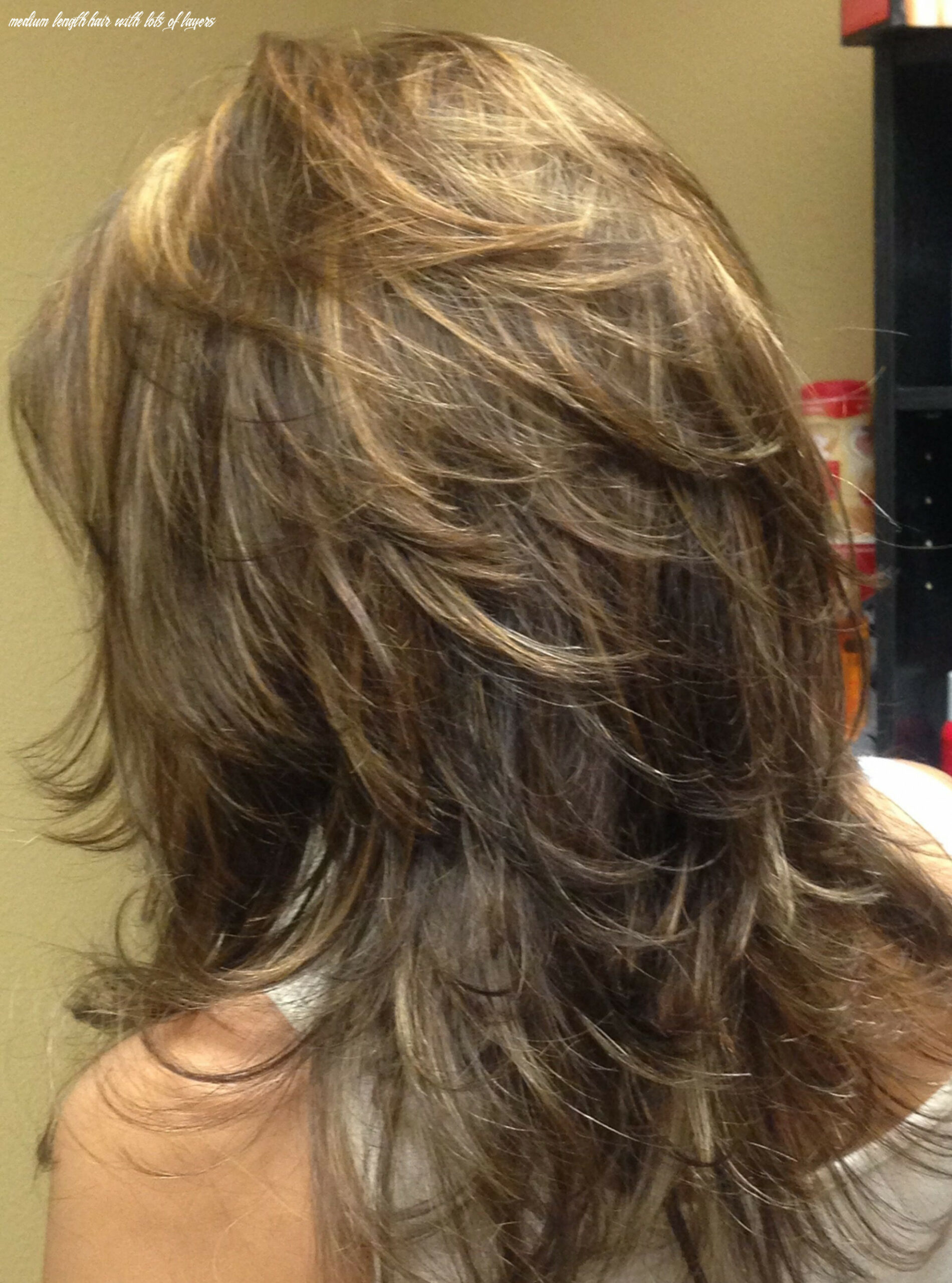 Pin on hair cuts medium length hair with lots of layers