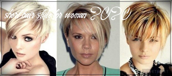 Pin on hair cuts short hair style for woman 2020