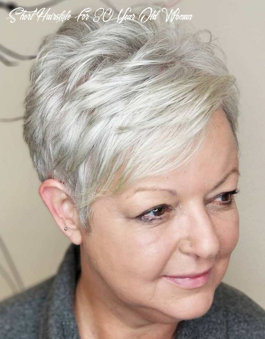Pin on hair cuts short hairstyle for 80 year old woman