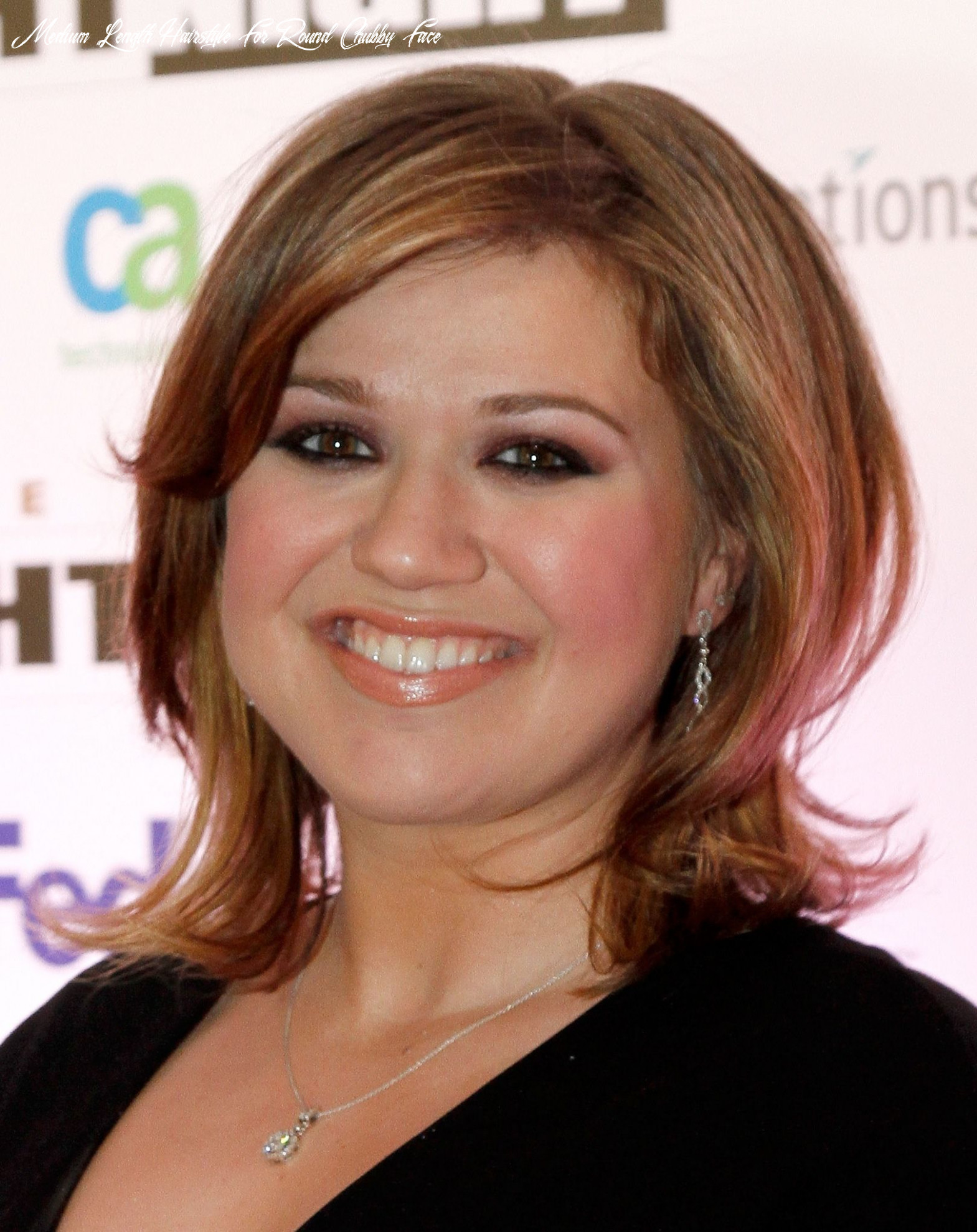 Pin on hair did medium length hairstyle for round chubby face