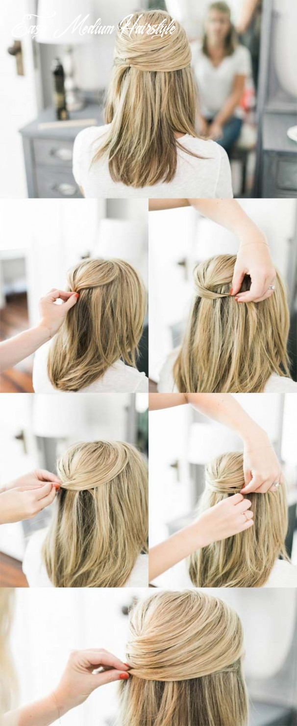 Pin on hair easy medium hairstyle