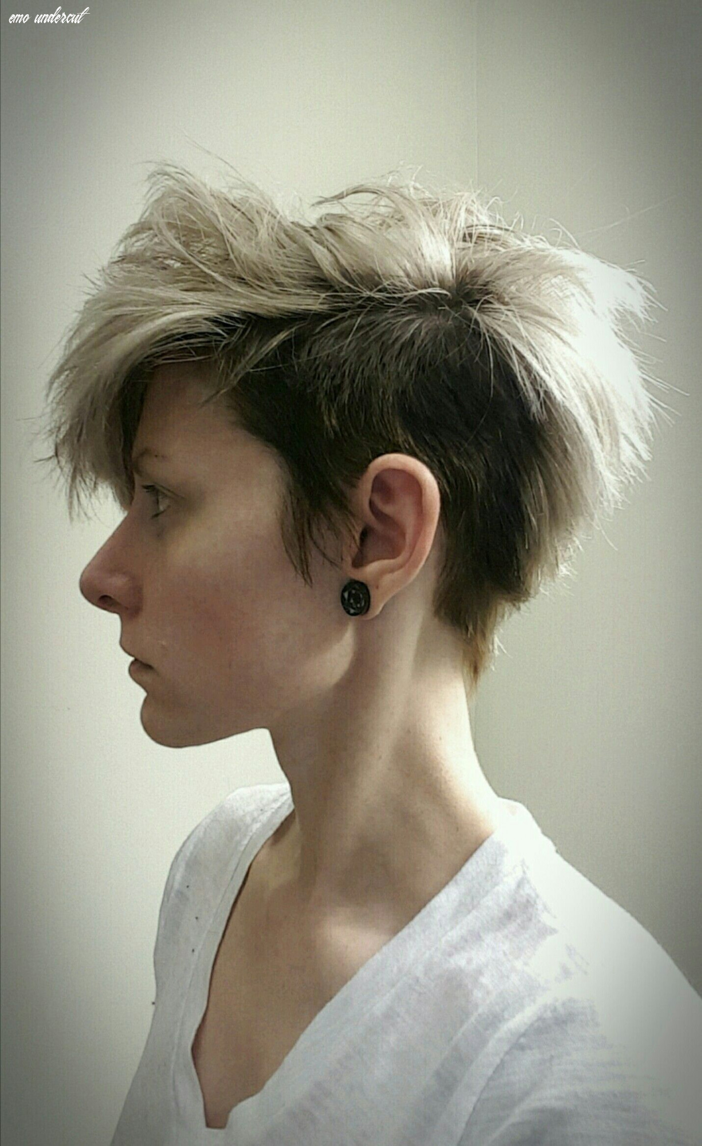 Pin on hair emo undercut