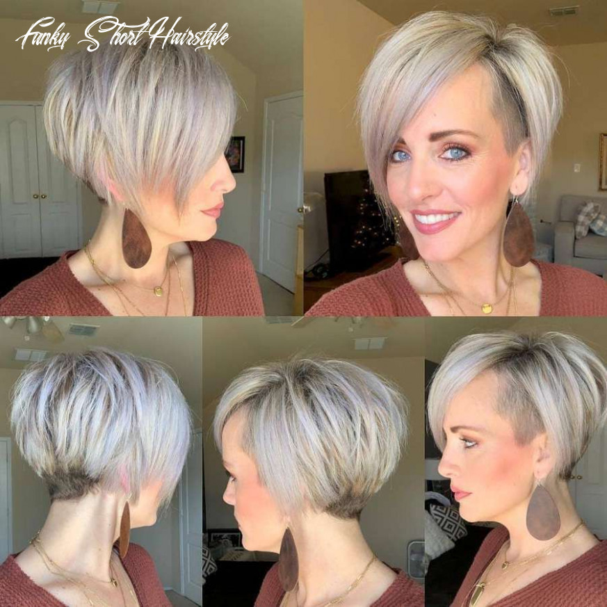 Pin on hair funky short hairstyle