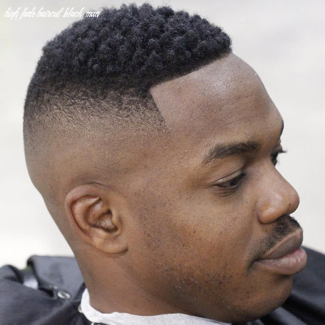 Pin on hair high fade haircut black man