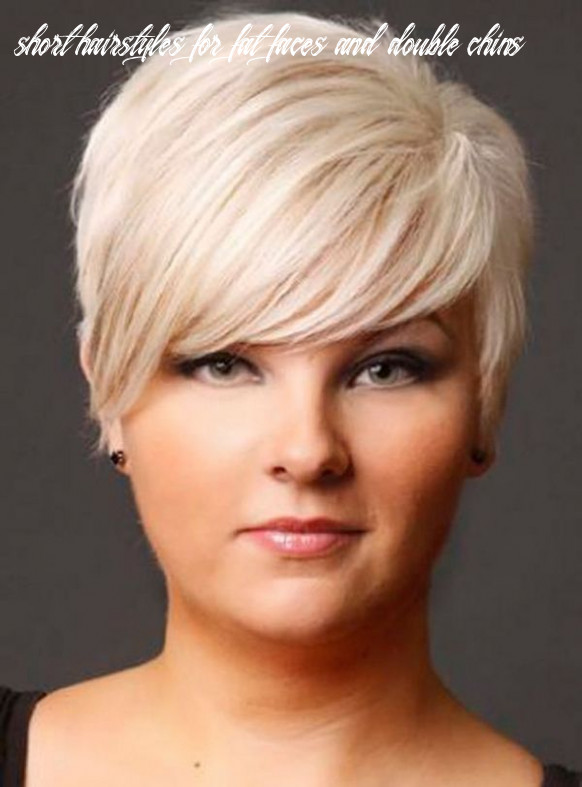 Pin on hair idea short hairstyles for fat faces and double chins