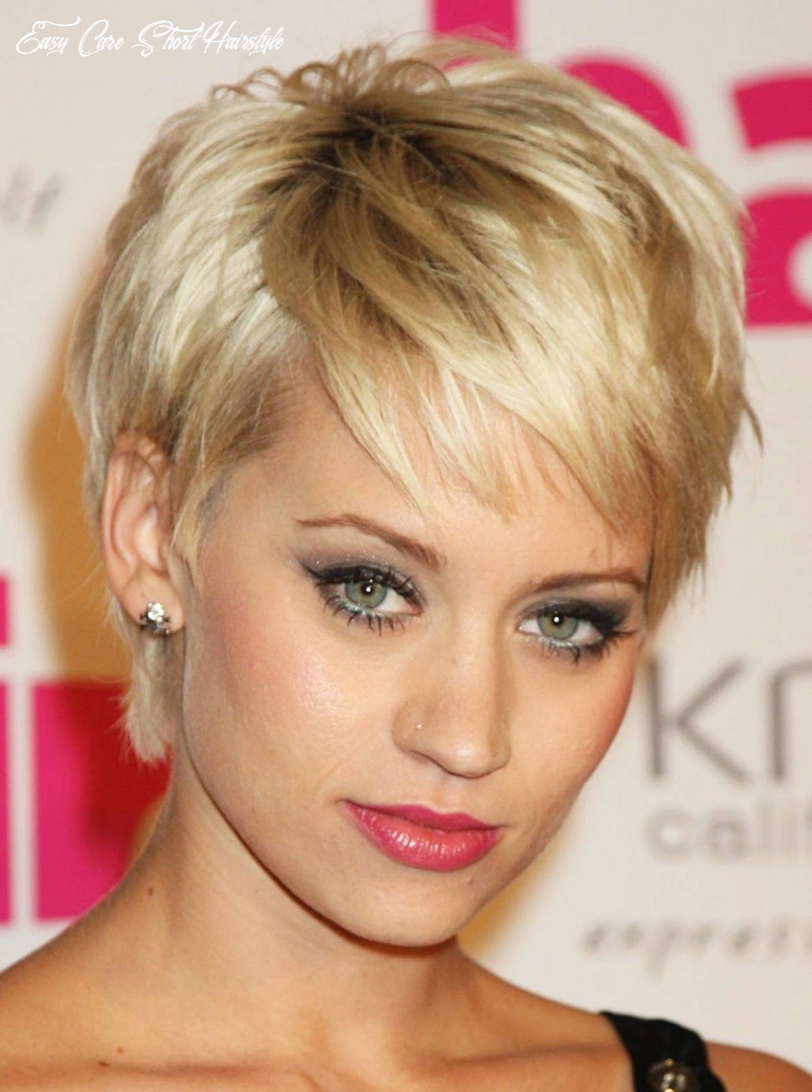 Pin on hair/make up easy care short hairstyle