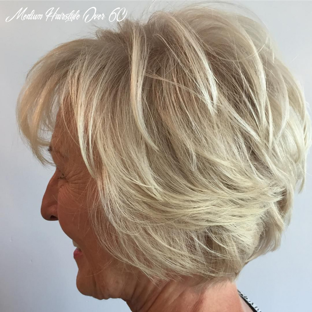 Pin on hair medium hairstyle over 60