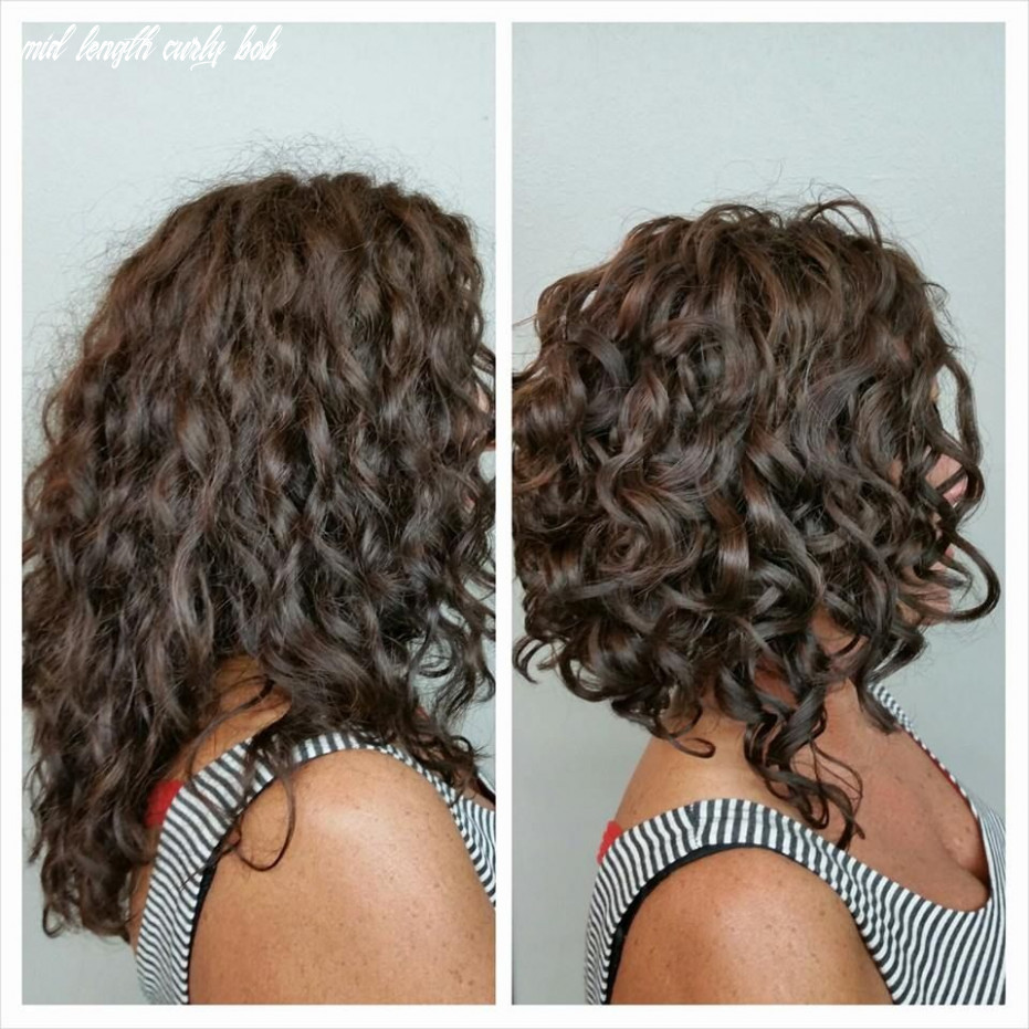 Pin on hair ‍♀️ mid length curly bob