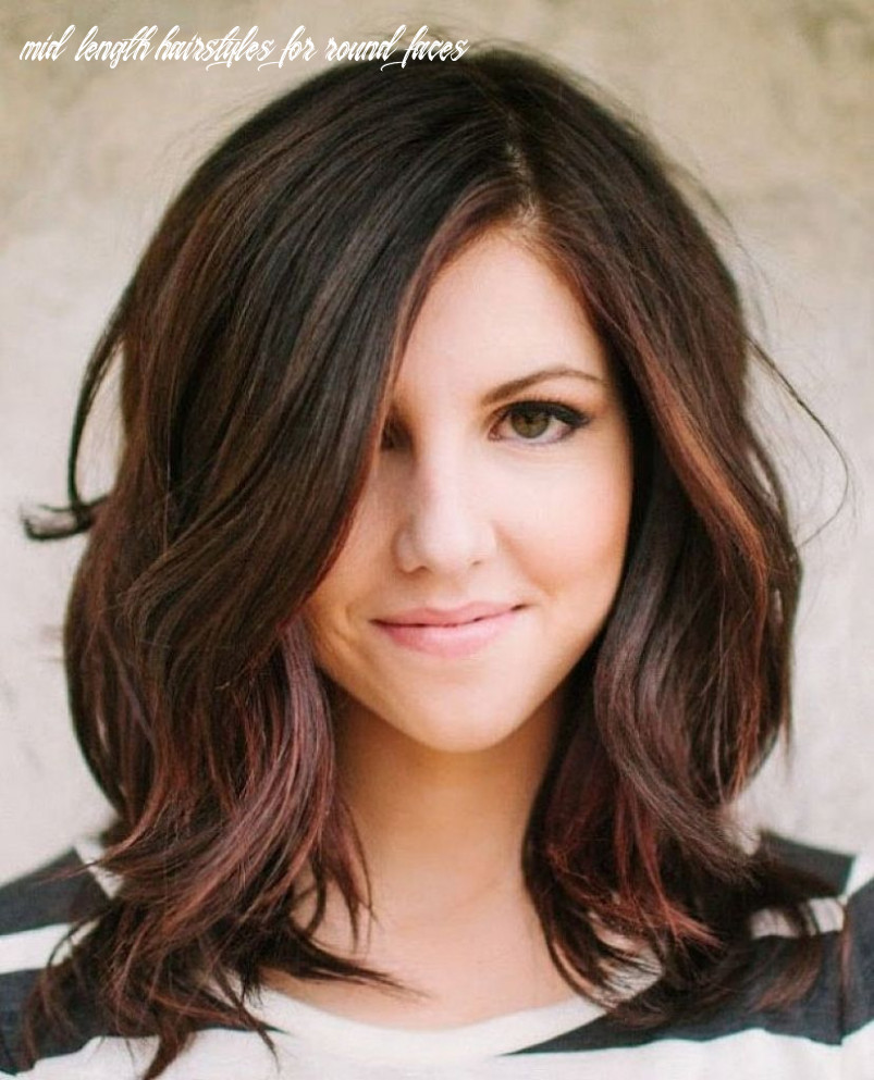 Pin on hair mid length hairstyles for round faces