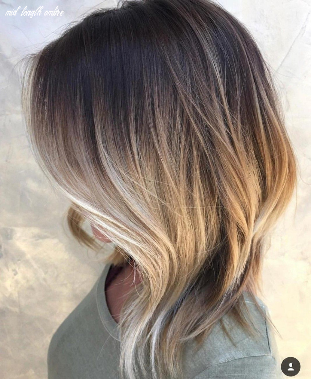 Pin on hair ❤️❤️ mid length ombre
