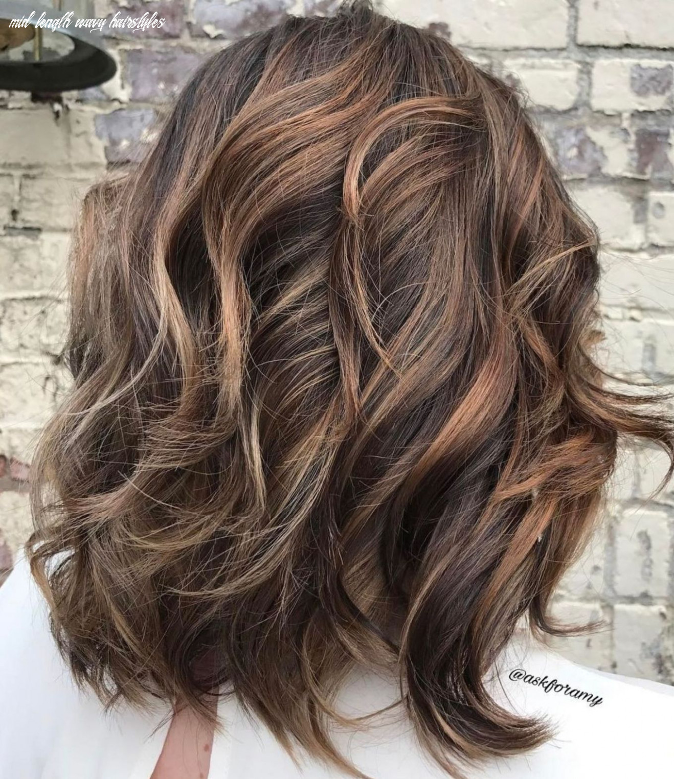 Pin on hair mid length wavy hairstyles