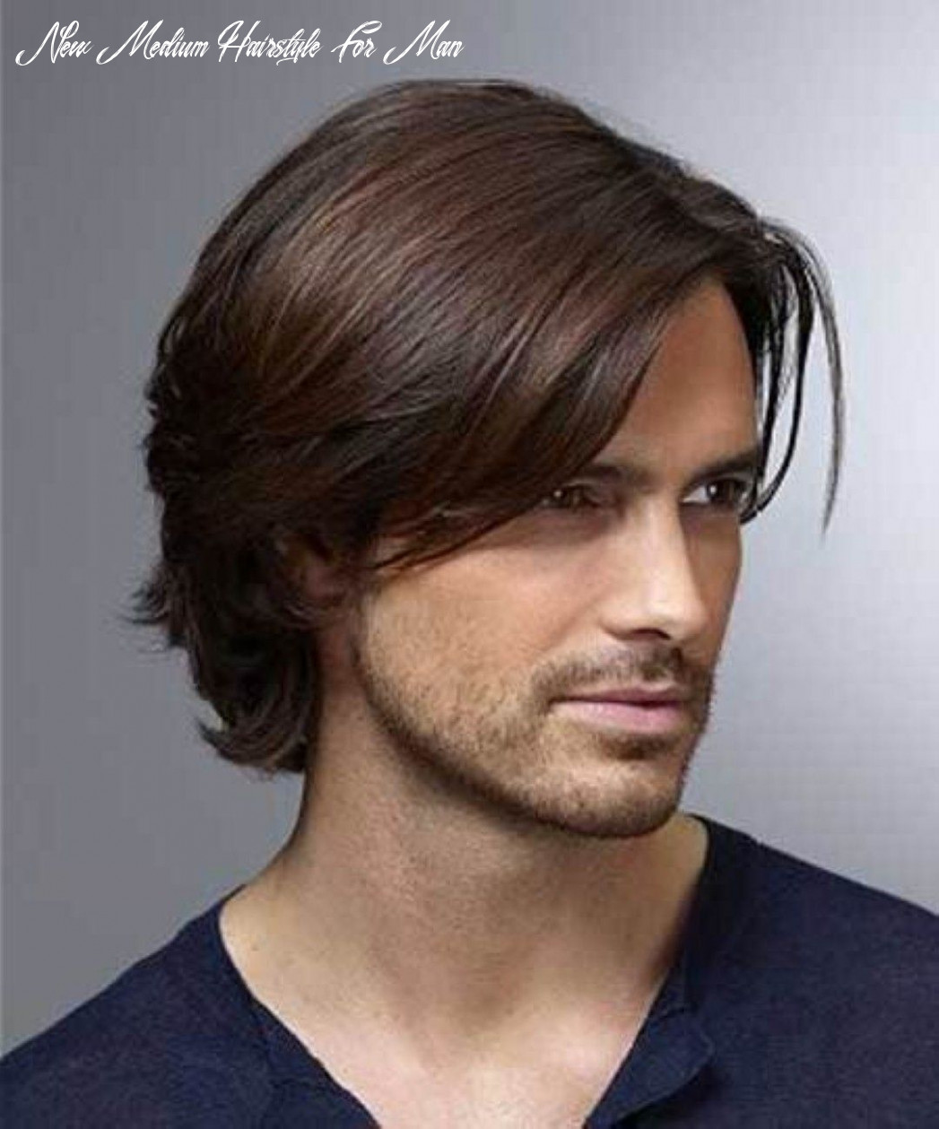 Pin on hair new medium hairstyle for man