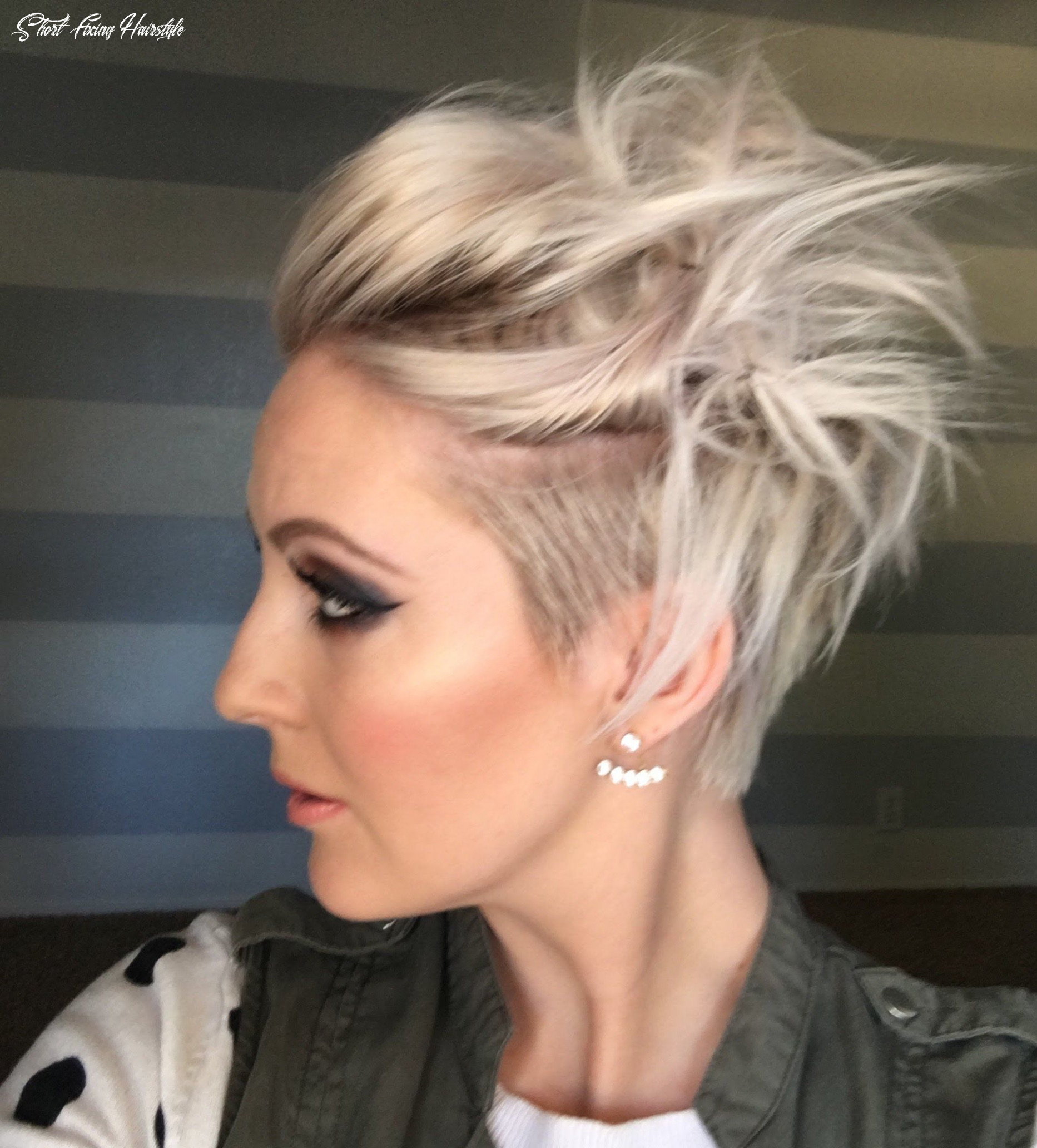 Pin on hair short fixing hairstyle