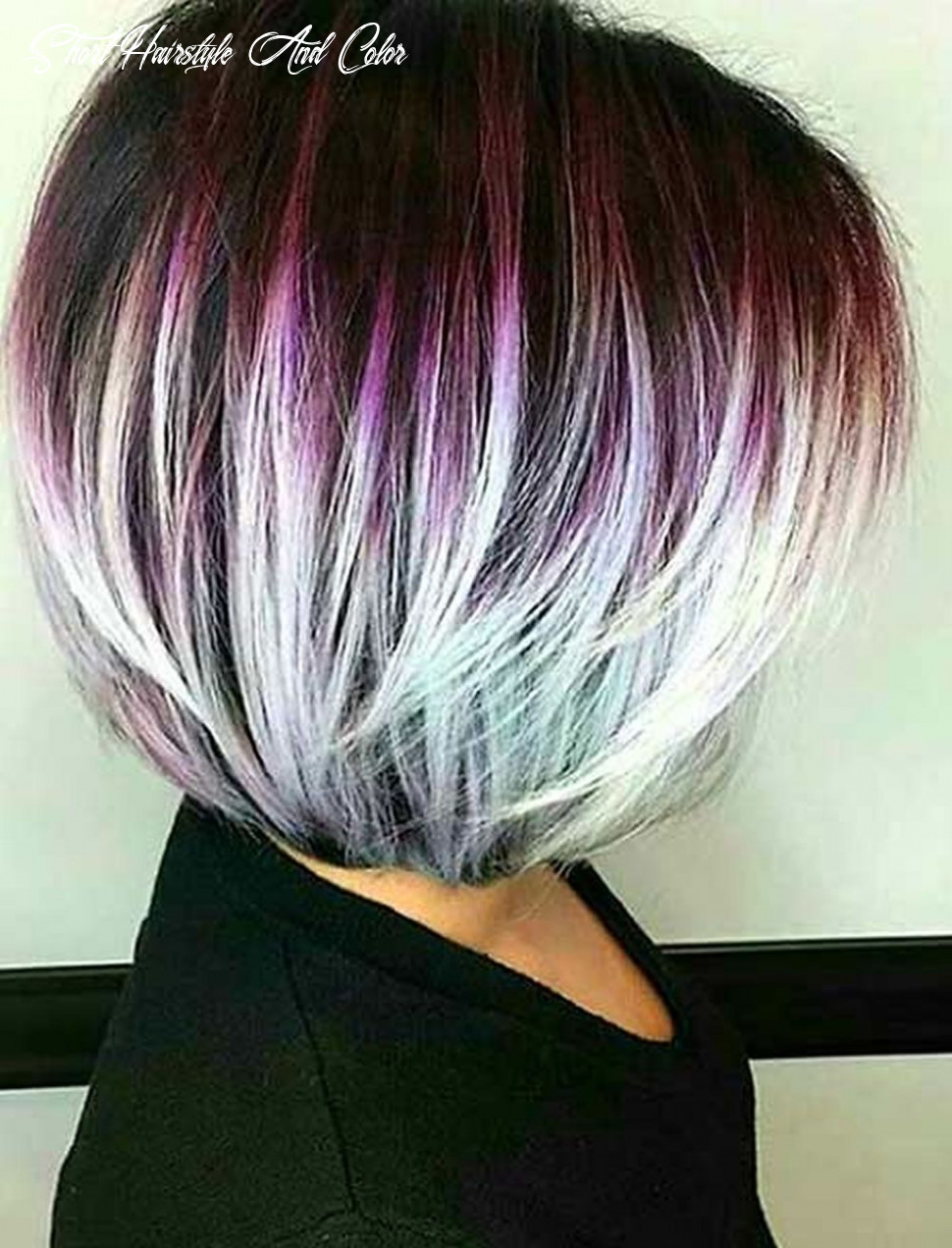 Pin on hair short hairstyle and color