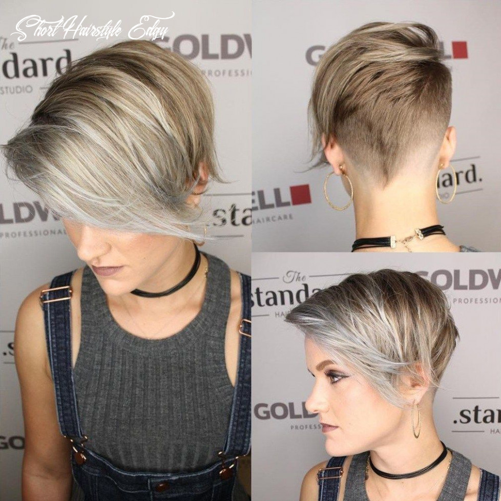 Pin on hair short hairstyle edgy