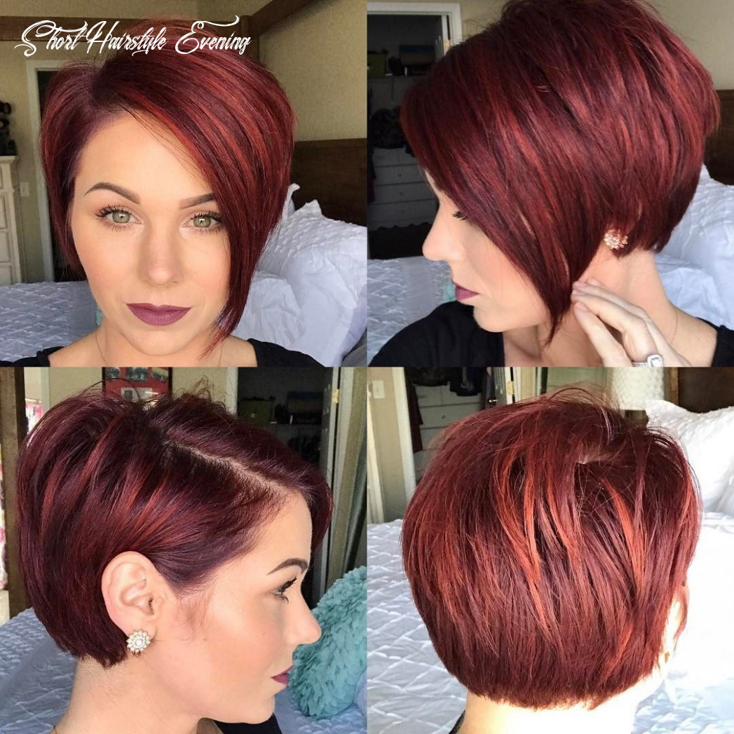 Pin on hair short hairstyle evening