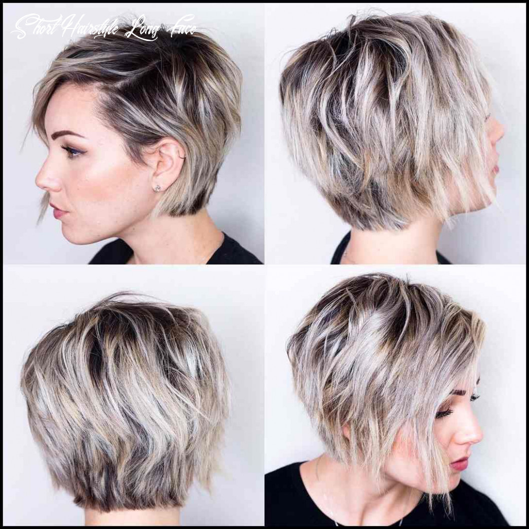 Pin on hair? short hairstyle long face