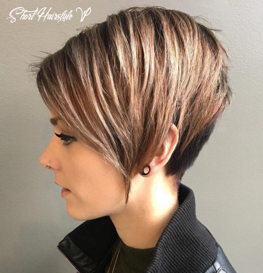 Pin on hair short hairstyle v