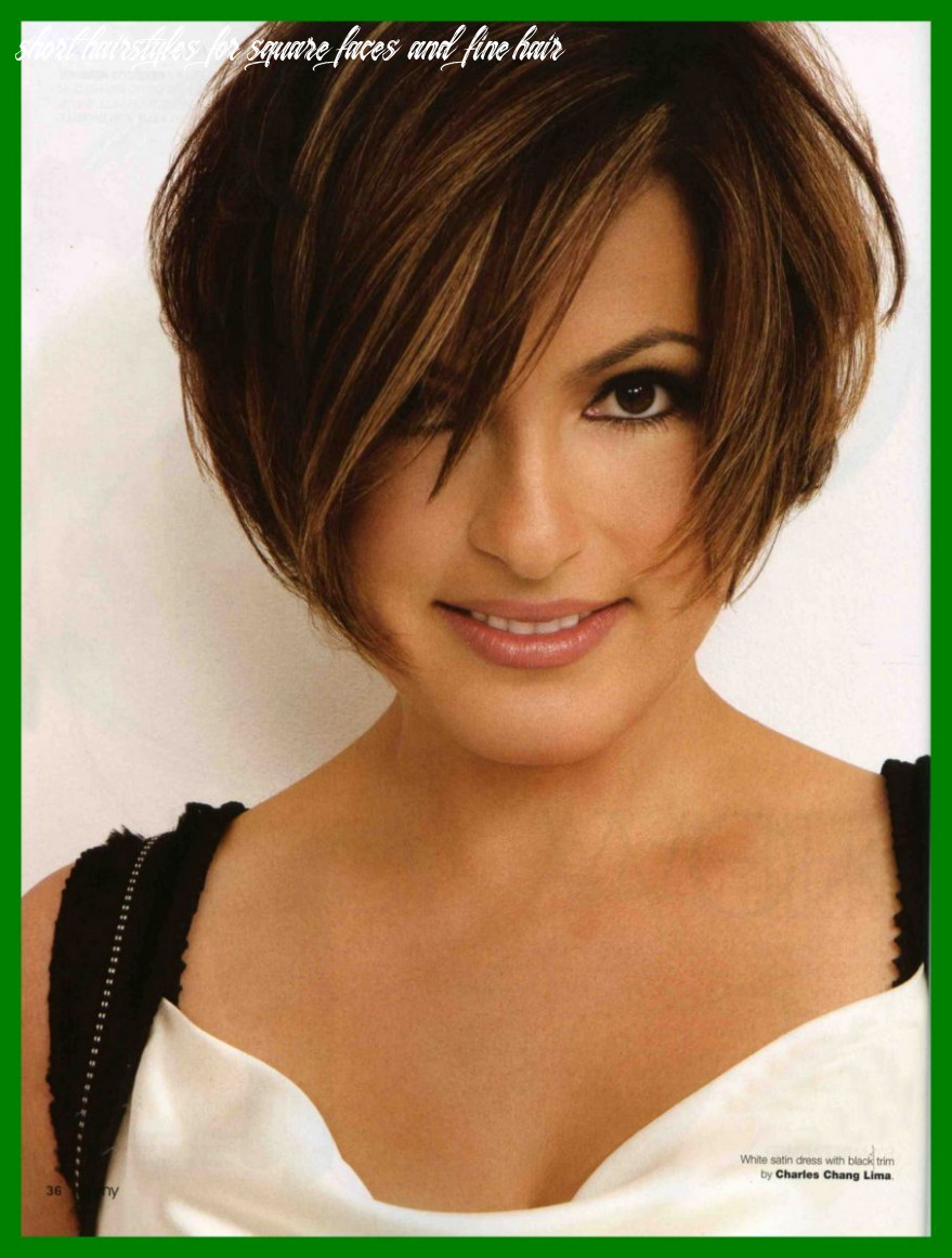 Pin on hair short hairstyles for square faces and fine hair