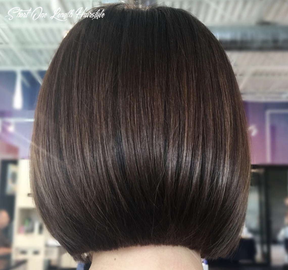 Pin on hair short one length hairstyle