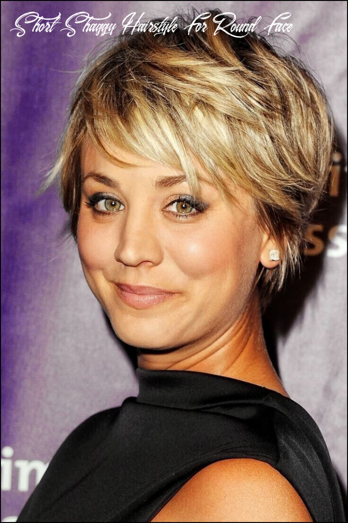 Pin on hair short shaggy hairstyle for round face