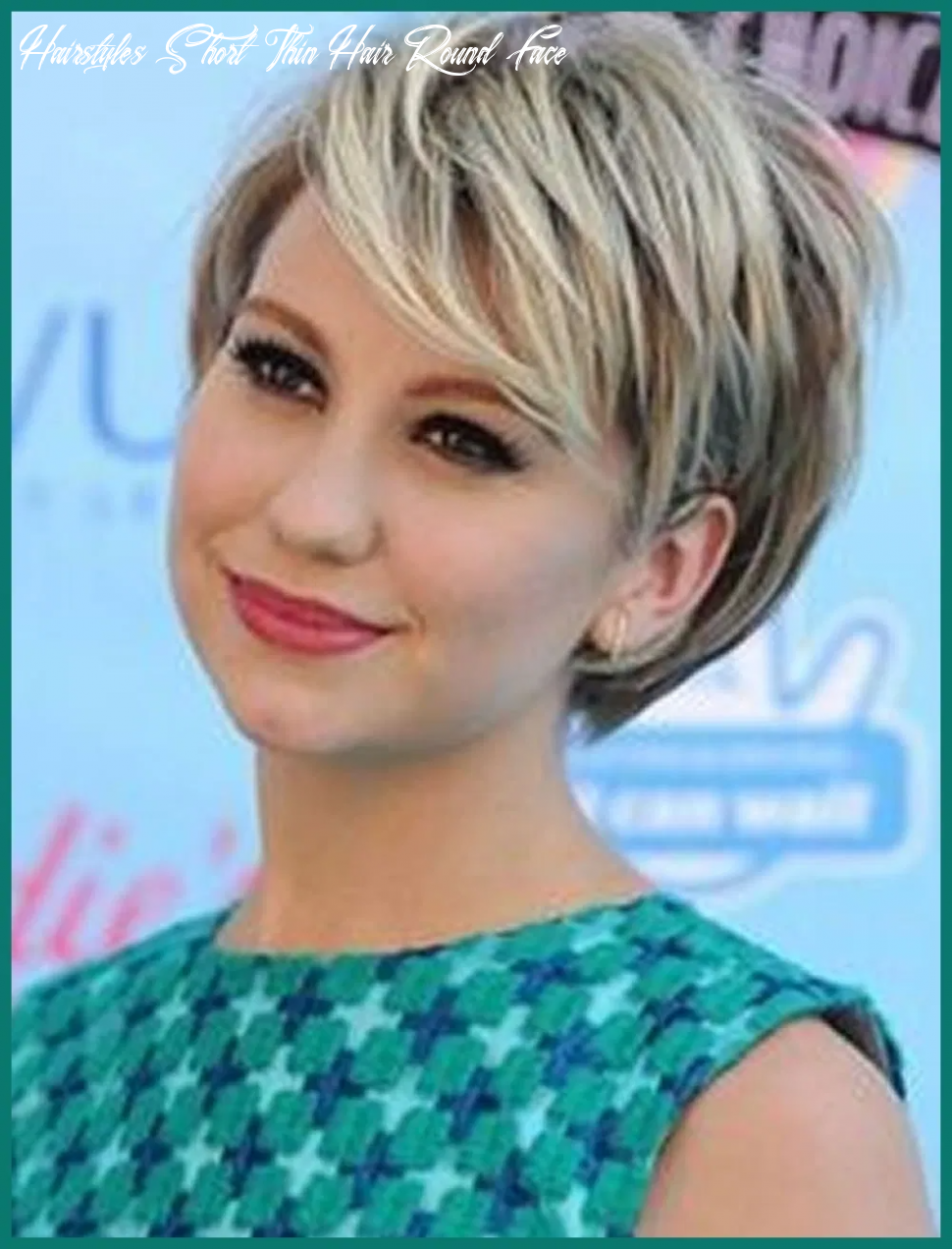 Pin on ✽ hair style ✽ hairstyles short thin hair round face
