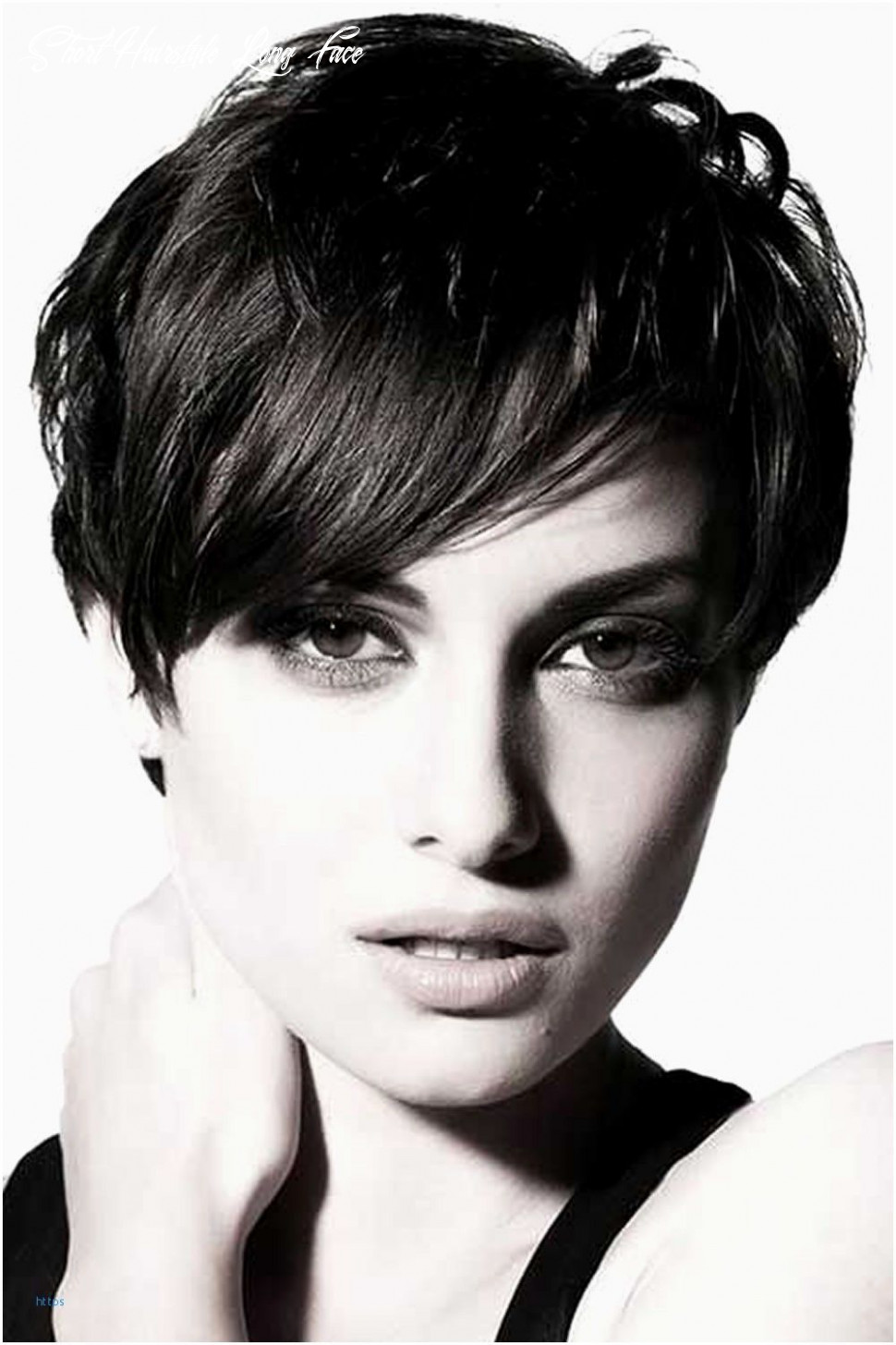 Pin on hair style short hairstyle long face