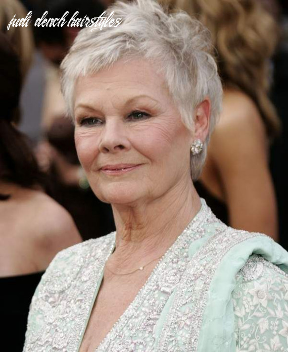 Pin on hair styles judi dench hairstyles