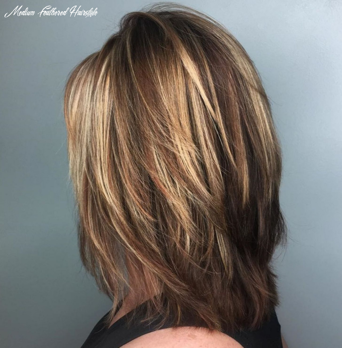 Pin on hair styles medium feathered hairstyle