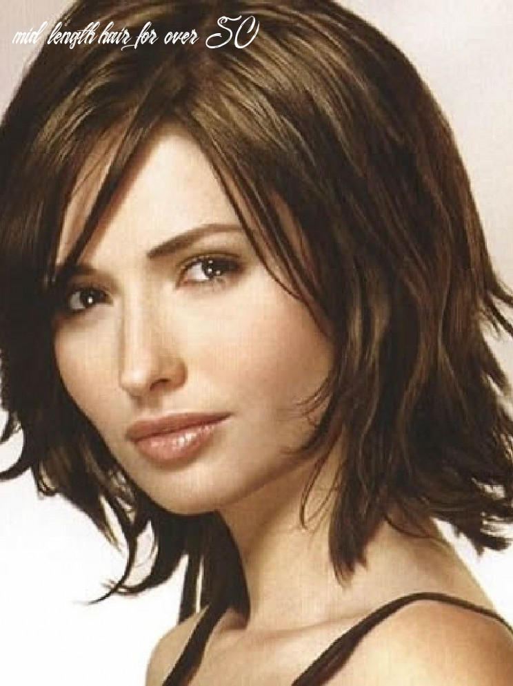 Pin on hair styles mid length hair for over 50