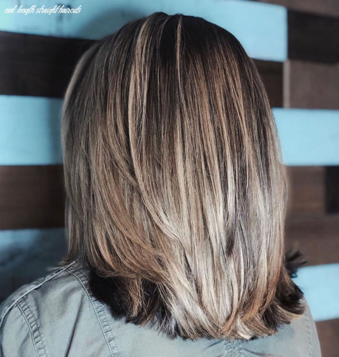 Pin on hair styles mid length straight haircuts
